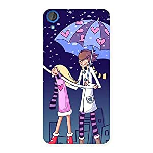 Anime Couple Back Case Cover for HTC Desire 820s
