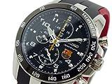 セイコー SEIKO スポーチュラ クロノグラフ 腕時計 SNAE93P1 ブラック×レッド 並行輸入品