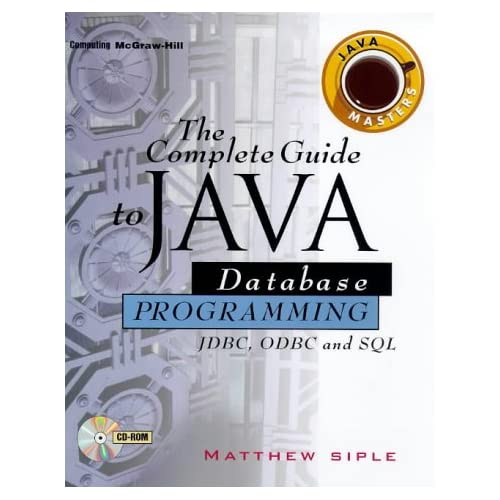 Download The Complete Guide To Java Database Programming With Fdbc