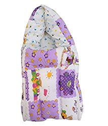 Colorful, Warm and Cozy Baby Carrier / Mattress with Foldable Quilt and Hood