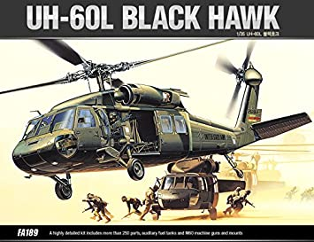 [12111] Academy Maquettes Aviation 1/35 UH 60L UH-60L BLACK HAWK