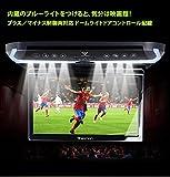 11.6インチWSVGAフリップダウンモニター マイナスイオン空気清浄機能内蔵 HDMI入力対応  IRヘッドホン対応 タッチボタン メタルグレー色  L0147