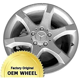 MERCEDES C230,C350,C-CLASS 17×8.5 6 SPOKE Factory Oem Wheel Rim- SILVER – Remanufactured