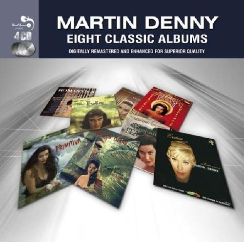 Martin Denny-Eight Classic Albums-(RGJCD270)-Remastered-4CD-FLAC-2011-SHGZ Download