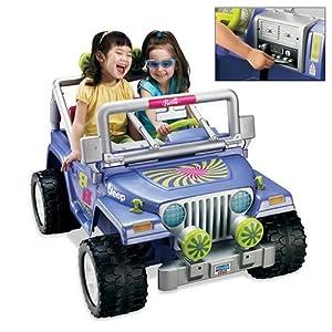 Fisher Price Barbie Jammin' Jeep