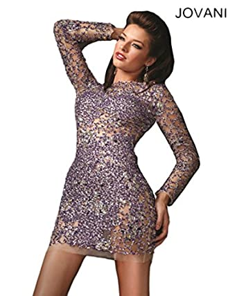 Jovani 4276, Long Sleeve Cocktail Dress