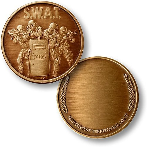 SWAT 4 with Wreath Bronze Antique