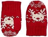 ESPRIT 105EEAR002 Mitten-guantes Bebé-Niños    Rojo Orange Red 6-9 Meses