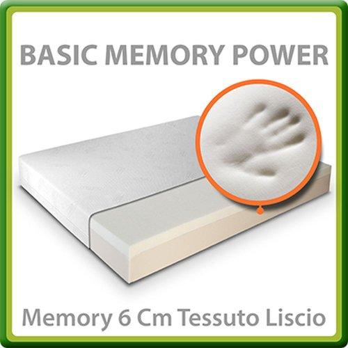 Materasso Memory 6 Cm.Prezzoinitalia Materasso Prezzi Basic Memory Power Con 6 Cm