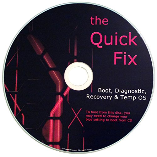 The QUICK FIX PC Operating System, Boots any Computer – Windows/OSX/Linux [2014-2016]