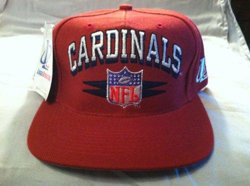 Arizona Cardinals Vintage Spike Snapback Hat by Logo Athletic