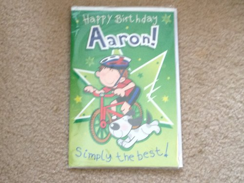Happy Birthday Aaron - Singing Birthday Card