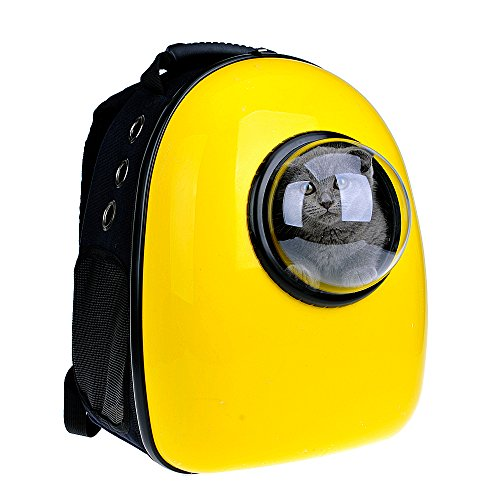 U-pet Innovative Patent Bubble Pet Carriers, Yellow