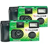 Fujifilm Quicksnap Flash 400 Single-Use Camera With Flash (2 Pack) (Discontinued by Manufacturer)