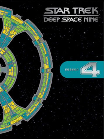 Cover art for  Star Trek Deep Space Nine - The Complete Fourth Season