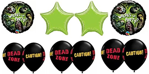 Zombies Party Balloon Bouquet