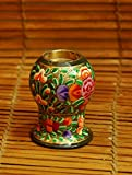 The India Craft House Oval-Candle stand (H-4