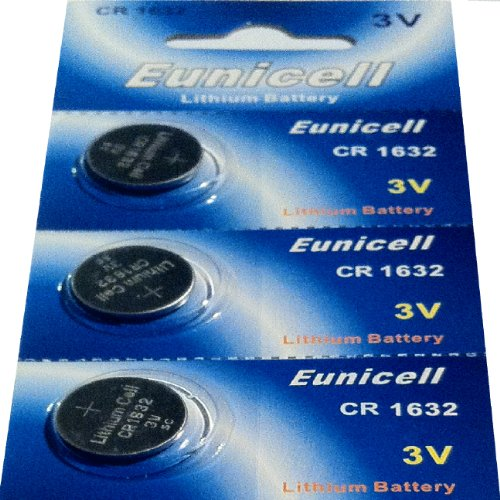 3 x CR1632 marque eunicell pile bouton lithium 3 v eunicell distribution allemagne