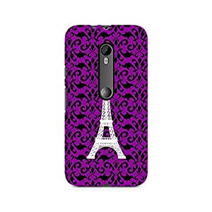 TAZindia Designer Printed Hard Back Case Cover For Moto X Style