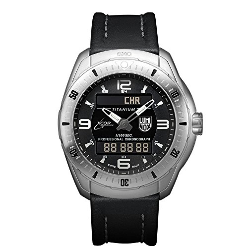 Luminox Xx.5241.xs Men's Xcor Space Expedition Titanium Case Black Leather Black Dial Silver Watch - 51D4jWJF16L - Luminox Xx.5241.xs Men's Xcor Space Expedition Titanium Case Black Leather Black Dial Silver Watch
