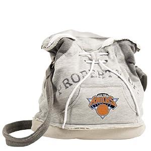 NBA New York Knicks Hoodie Duffel (Grey) by Pro-FAN-ity Littlearth