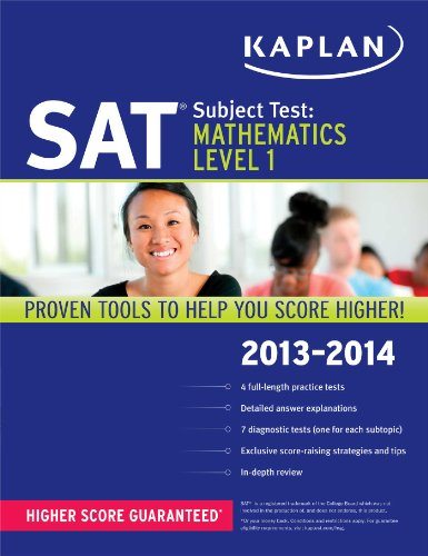 Kaplan SAT Subject Test Mathematics Level 1 2013-2014 (Kaplan Test Prep)
