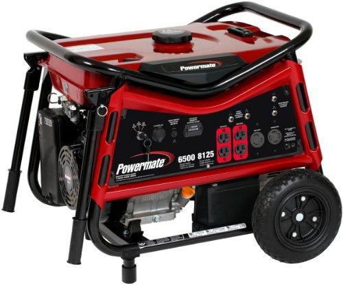 51D4l86N44L. SL500  Powermate PM0106507 Vx Power Series 8,125 Watt 420cc Gas Powered Portable Generator With Electric Start
