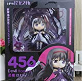 LY Q version clay magic circle Homura Akemi 456 # demon flame doll face transplant