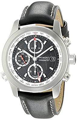 Bremont Men's Alt1 - WT/BK Analog Display Swiss Automatic Black Watch