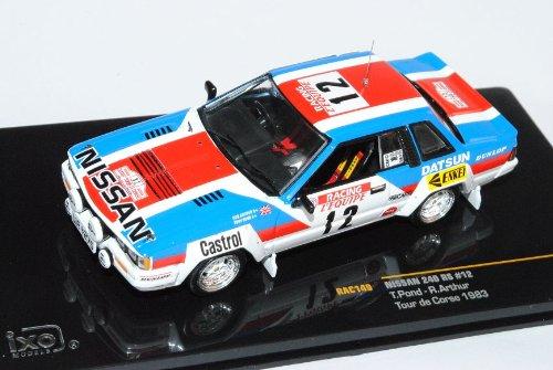 Nissan 240 RS Nr 12 Tour de CoRSe 1983 1/43 Ixo Modell Auto