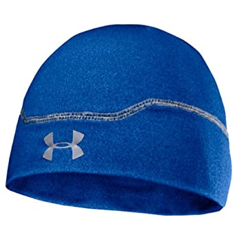 Under Armour Cold Gear Infrared Stealth Winter Golf Beanie -Mens - Moon Shadow