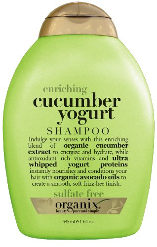 Organix Enriching Shampoo, Cucumber Yogurt, 13 Ounce (Organix Hair Yogurt compare prices)