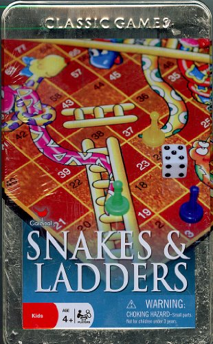 Classic Games Snakes and Ladders