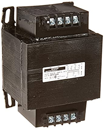 Siemens MT0750H Industrial Power Transformer, Domestic, 230/460/575 Primary Volts 50/60Hz, 95/115 Secondary Volts, 750VA Rating