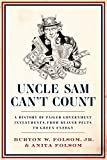 img - for Uncle Sam Can't Count: A History of Failed Government Investments, from Beaver Pelts to Green Energy book / textbook / text book