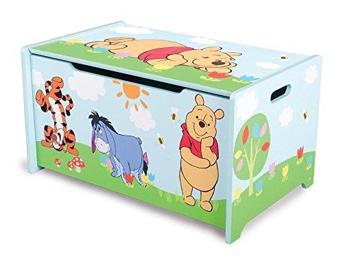 2-Stck-Disney-Winnie-the-Pooh-Kinderspielzeugkiste-Kinder-Toy-Box-Spielzeugkiste-Aufbewahrungsfach-aus-Holz-ca-622-x-393-x-337-cm