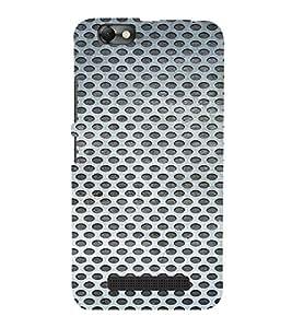 PrintVisa Iron Mesh Pattern 3D Hard Polycarbonate Designer Back Case Cover for LENOVO A2020