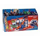 Fisher-Price TRIO Hot Wheels Super Stunt Builder Mega Playset - Super Stunt Builder, Lift N Go Garag