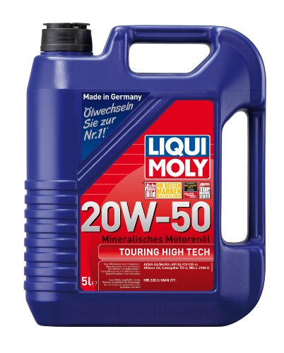 liqui moly 1255 20w 50 touring high tech motor oil 5. Black Bedroom Furniture Sets. Home Design Ideas