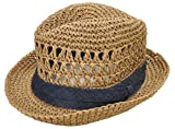 (クリスティーズハット)CHRISTYS' HAT 天然素材 麦藁 中折れ ハット 帽子 ユニセックス Mornington [並行輸入品]