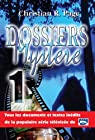 Dossiers myst�re - Tome 1 par Christian Robert Page