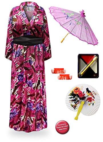 Iris  (Plus Size Geisha Halloween Costumes)