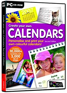 Create your own Calendars (Second Edition) (PC)