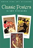 img - for Classic Posters: 16 Art Stickers (Dover Art Stickers) book / textbook / text book