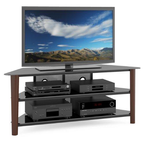 Corliving Tal-694-T Alturas Veneer Tv Stand, 60-Inch, Dark Espresso Wood
