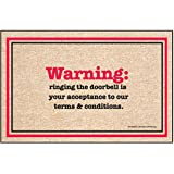 "High Cotton ""Terms and Conditions"" Doormat"