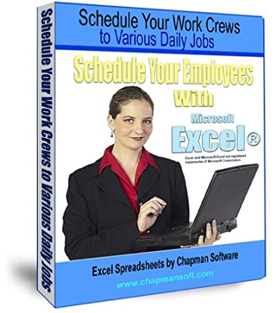 Schedule Your Work Crews to Various Daily Jobs with Excel