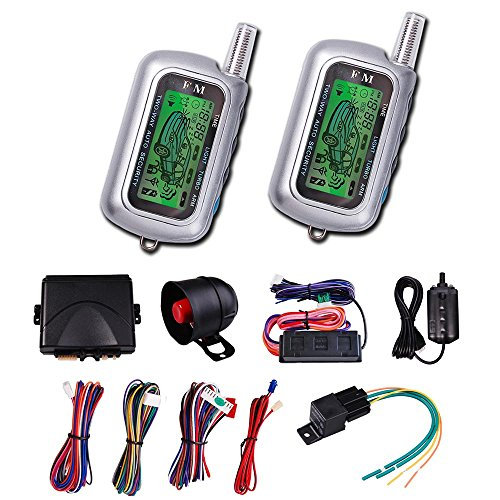 2-Way-LCD-Car-Alarm-Remote-Engine-Start-Security-System-Vehicle-Truck-Pager-Kit