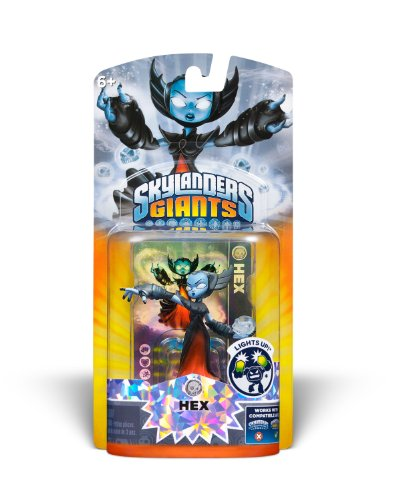 Skylanders Giants: Lightcore Hex Character - 1