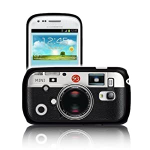 'RETRO CAMERA' Samsung GALAXY S3 MINI i8190 Polycarbonate Hard Case Cover